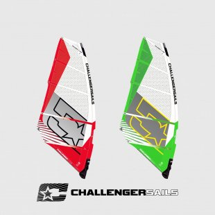 windsurfing plachta K-ONDA 2018, power wave, Challenger Sails