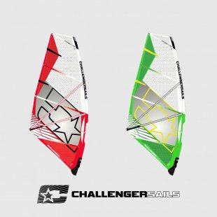 windsurfing plachta 4G 2018, wave, Challenger Sails