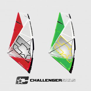 windsurfing plachta 3G 2018, wave, Challenger Sails